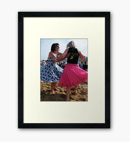 Rock and Rollers 3 Framed Print