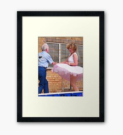 Rock and Rollers 4 Framed Print