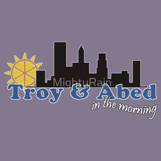 TShirtGifter presents: Troy and Abed in the morning