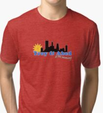 Troy and Abed in the morning Tri-blend T-Shirt