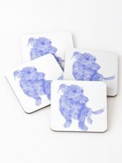 That must be a Chinese dragon dog;) Coasters
