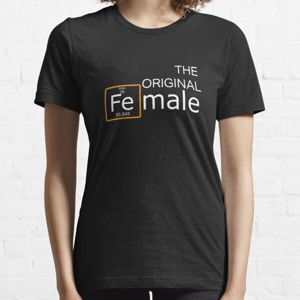 Top Fun Female Iron Man Gift Design Essential T-Shirt