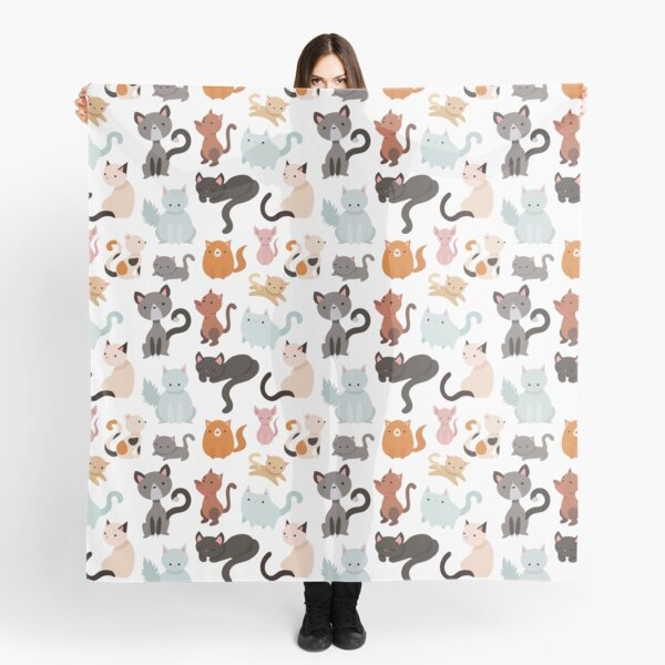 You've Cat to be Kitten Me Right Meow Scarf