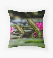 At The Pond's Edge Throw Pillow