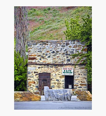 Horse Plains Jail Photographic Print