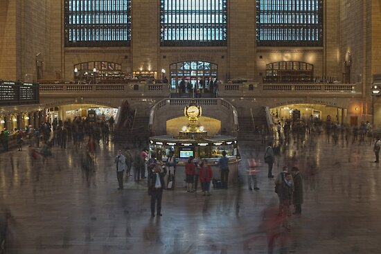 Grand Central Station in Motion by Daniel Fisher
