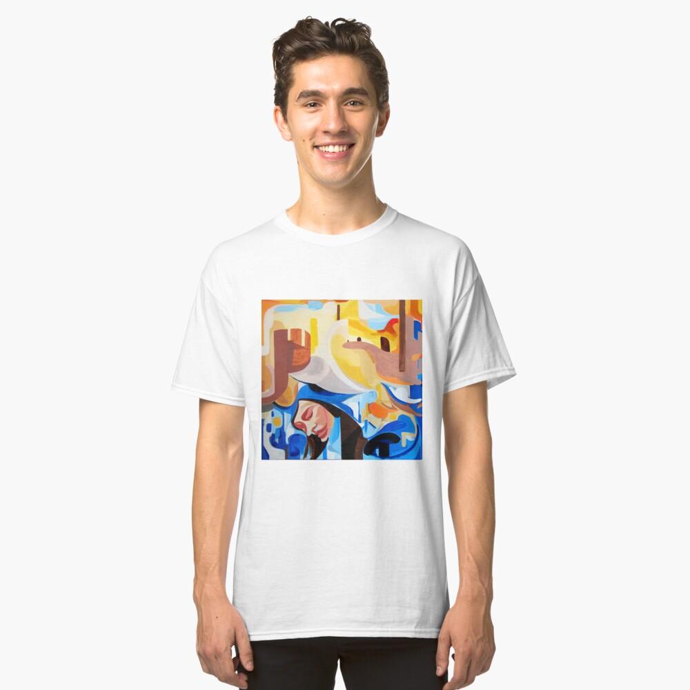Composition Painting Castle Introspection Classic T-Shirt