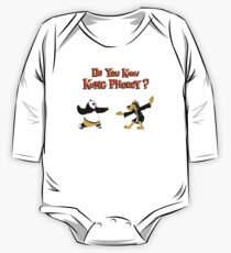 Do You Know Kung Phooey? One Piece - Long Sleeve