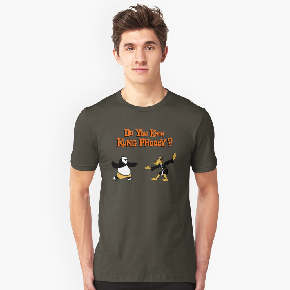 Do You Know Kung Phooey? Unisex T-Shirt Front
