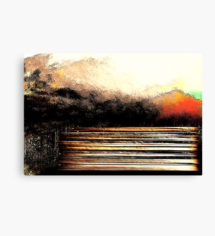 benches to dream on... well sometimes Canvas Print