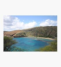 Hawaii Waimea Bay Photographic Print