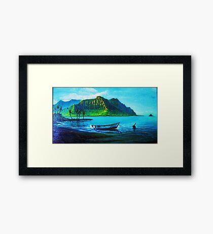 Kaneohe Bay Framed Print
