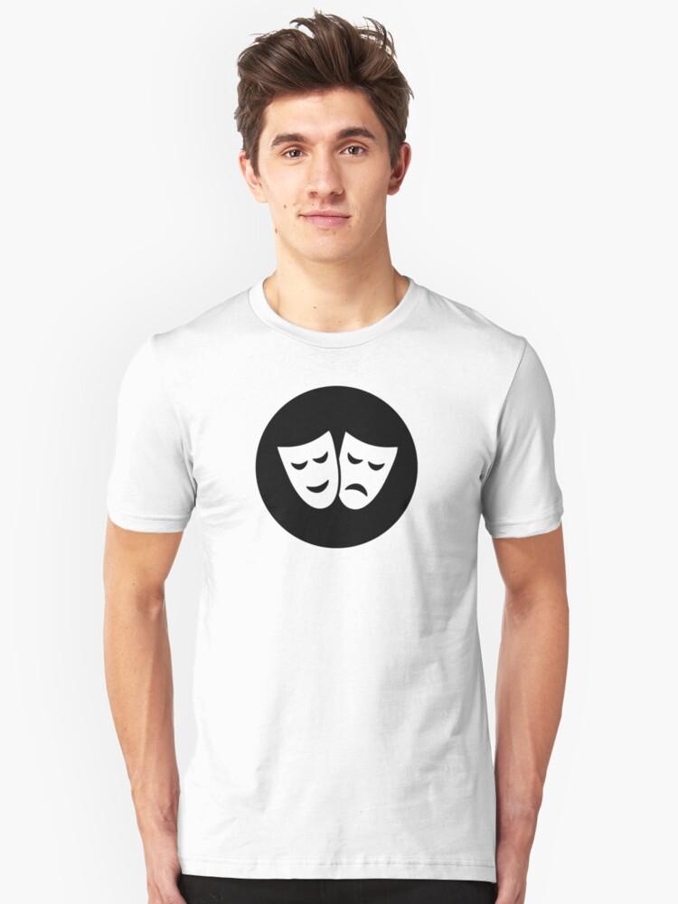 Drama Ideology Unisex T-Shirt Front