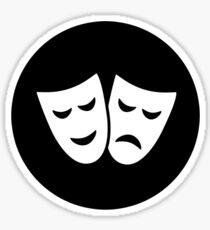 Drama Ideology Sticker