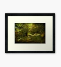 The Coppice. Framed Print