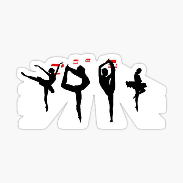 ROAD TO BALLET Sticker
