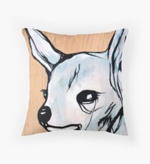 sly fox Throw Pillow