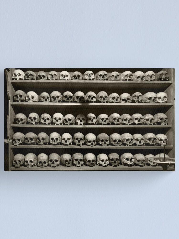 Alternate view of Skulls Canvas Print