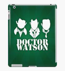 Doctor Watson Poster iPad Case/Skin