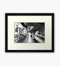 Bangkok: Among Discovery - Night in Bangkok Framed Print