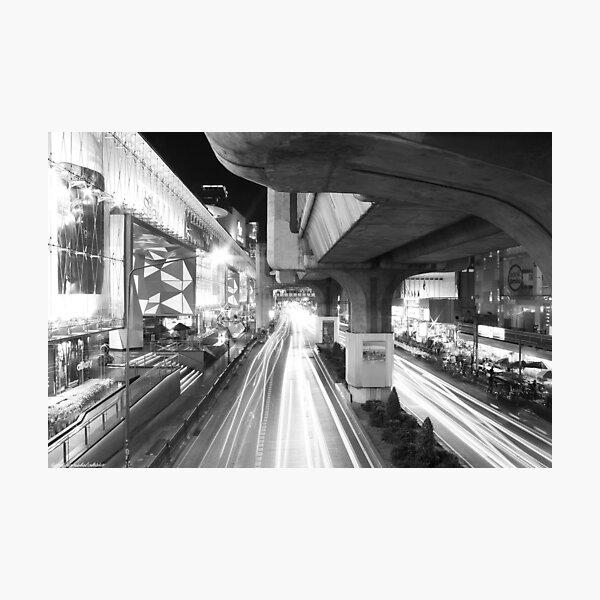 Bangkok: Among Discovery - Night in Bangkok Photographic Print