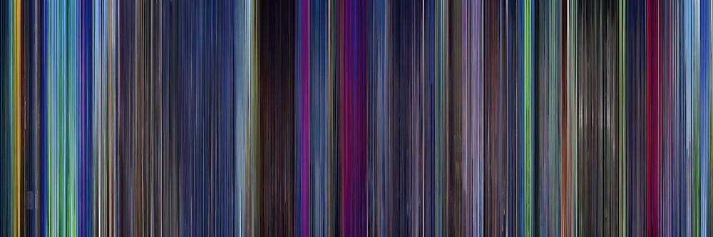 Moviebarcode: The Last Unicorn (1982) by moviebarcode