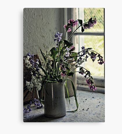 Vase of Wildflowers Canvas Print