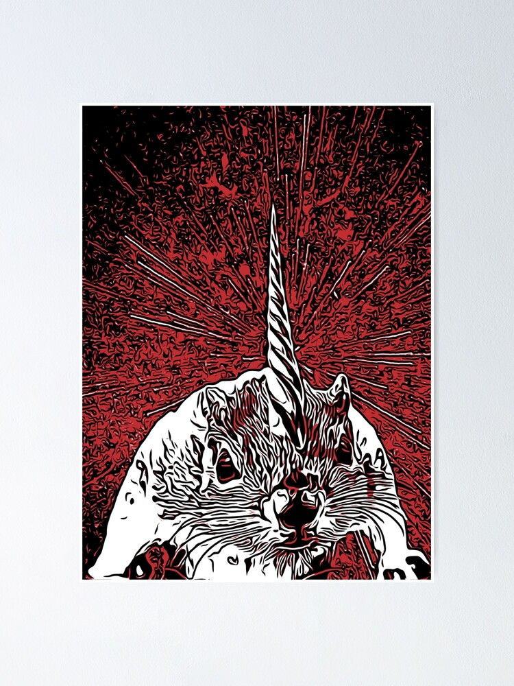 Alternate view of The Overlord Unicorned Squirrels From Mars Poster