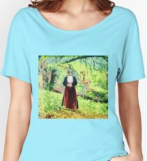 Woman in National Costume, Artvin, Armenia ca.1905 Women's Relaxed Fit T-Shirt