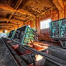 Abadonned Industry-Train-Station by MarkusWill
