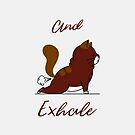 Cat Yoga Pose | And Exhale... by Design Kitty