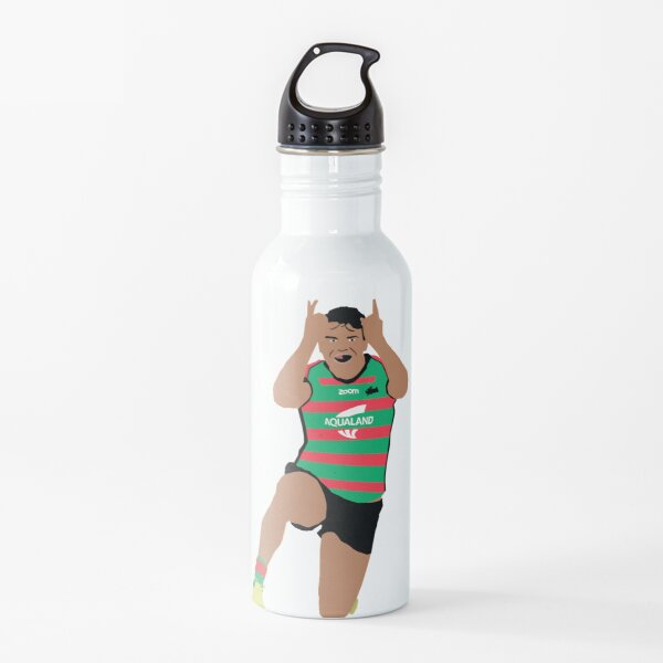 Latrell Mitchell South Sydney Rabbitohs NRL Water Bottle
