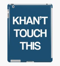 Khan Touch This (white) iPad Case/Skin
