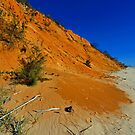 Coloured Sands. Rainbow Beach, Queensland, Australia. (2) by Ralph de Zilva