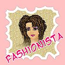Fashionista - stylish girls by Fun Arts