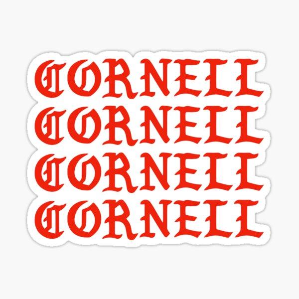 cornell i feel like cornell Sticker