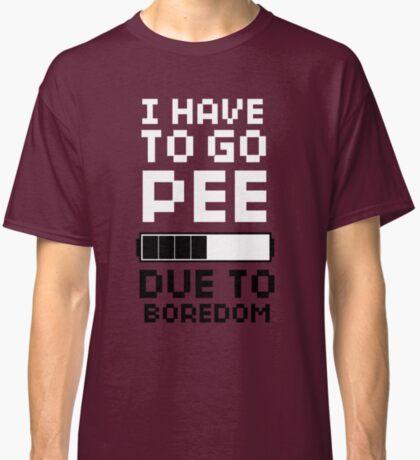 Scott Pilgrim   Pee Due To Boredom Classic T-Shirt