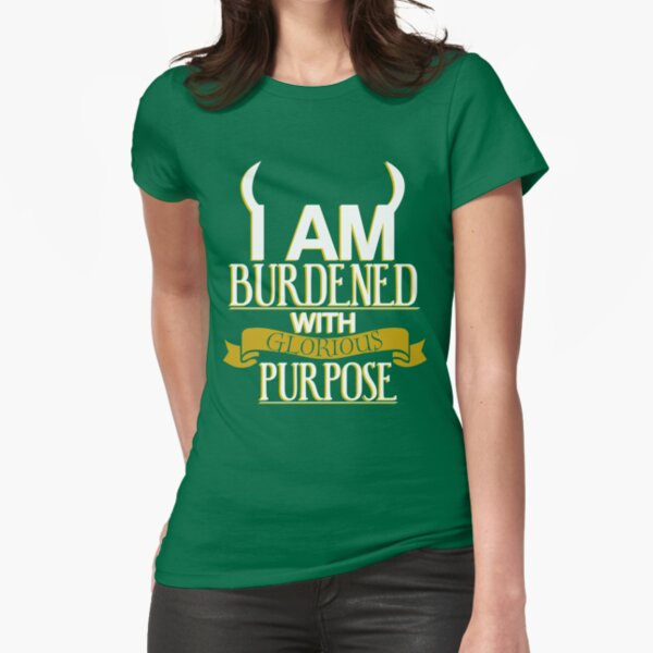 Glorious Purpose Fitted T-Shirt