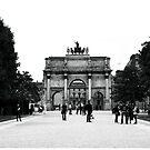 Arc de Triomphe du Carrousel by Ruth Smith