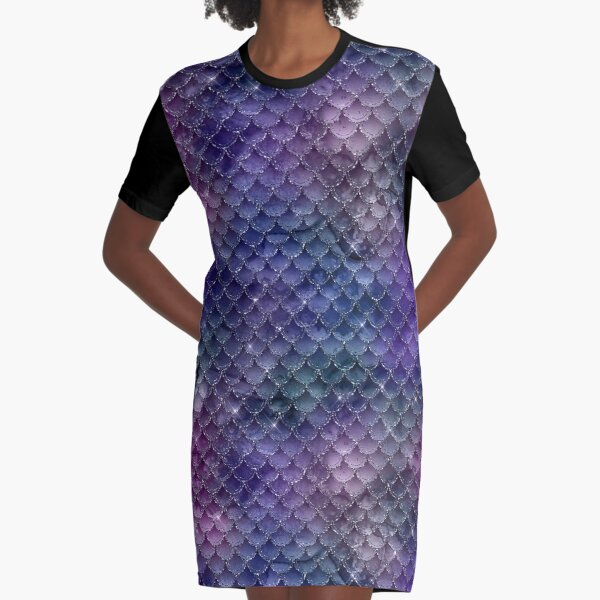 Siren creature Graphic T-Shirt Dress