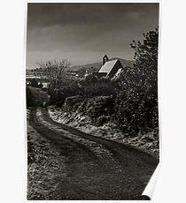 Wesk Cork Church on a Winter's Evening, County Cork, Ireland Poster