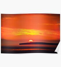 Loop Head Sunset Poster