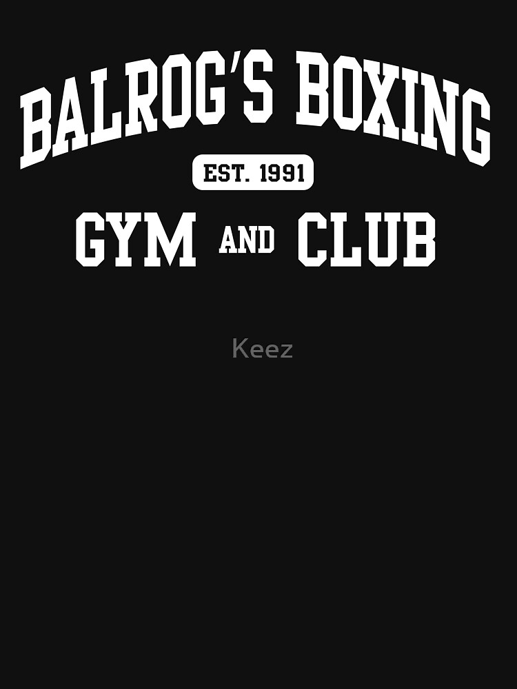 TShirtGifter presents: BALROG'S BOXING GYM | Unisex T-Shirt
