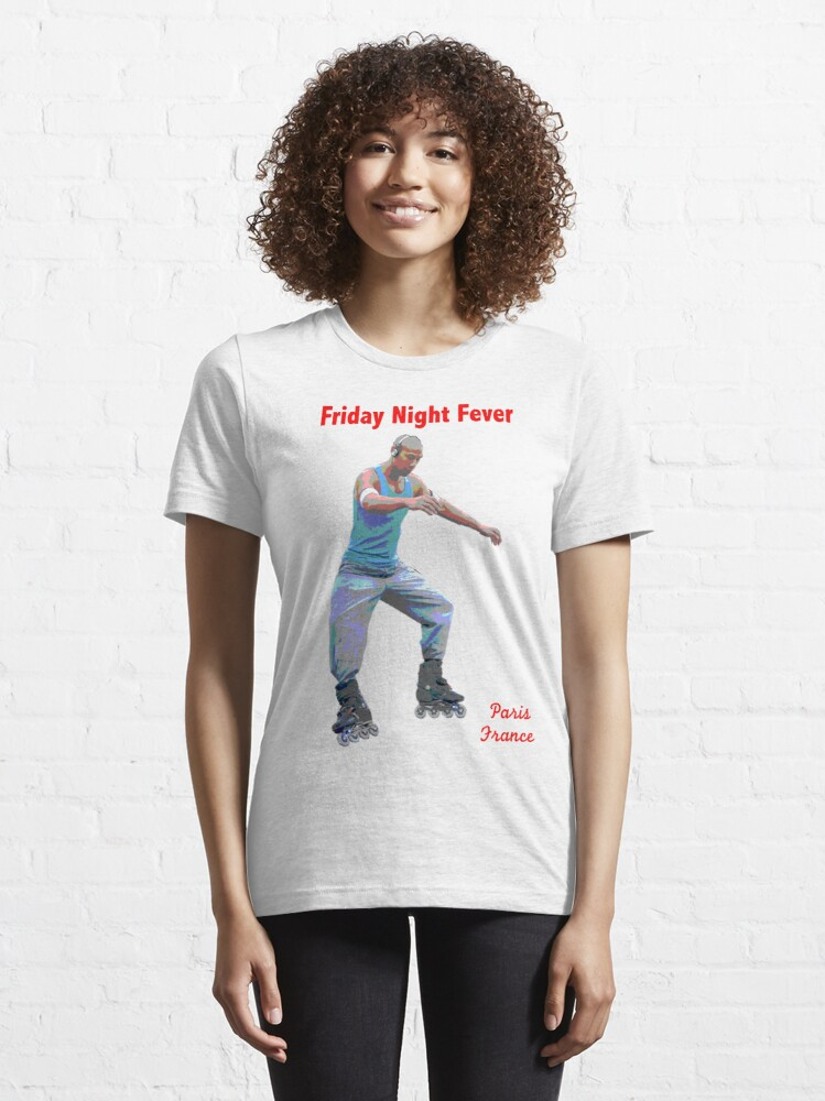 Alternate view of Friday Night Fever Essential T-Shirt