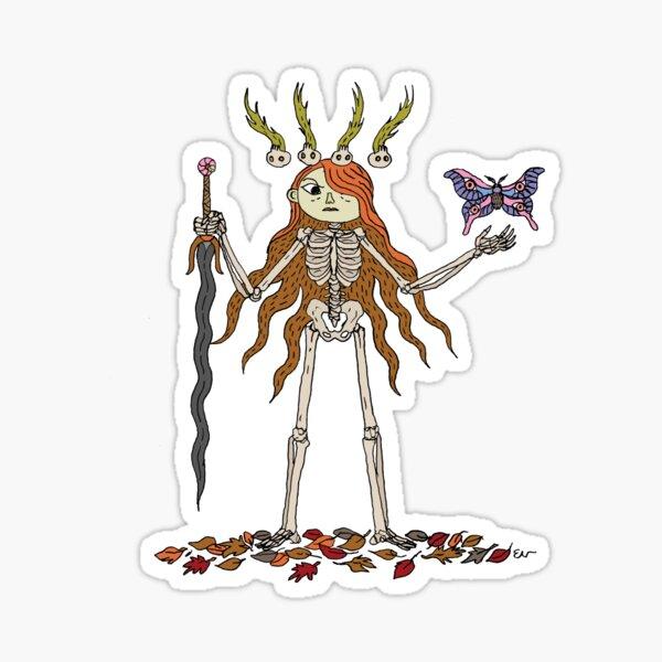 Cursed Girl  Sticker