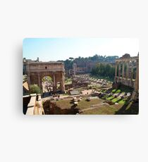 Forum, Rome Canvas Print