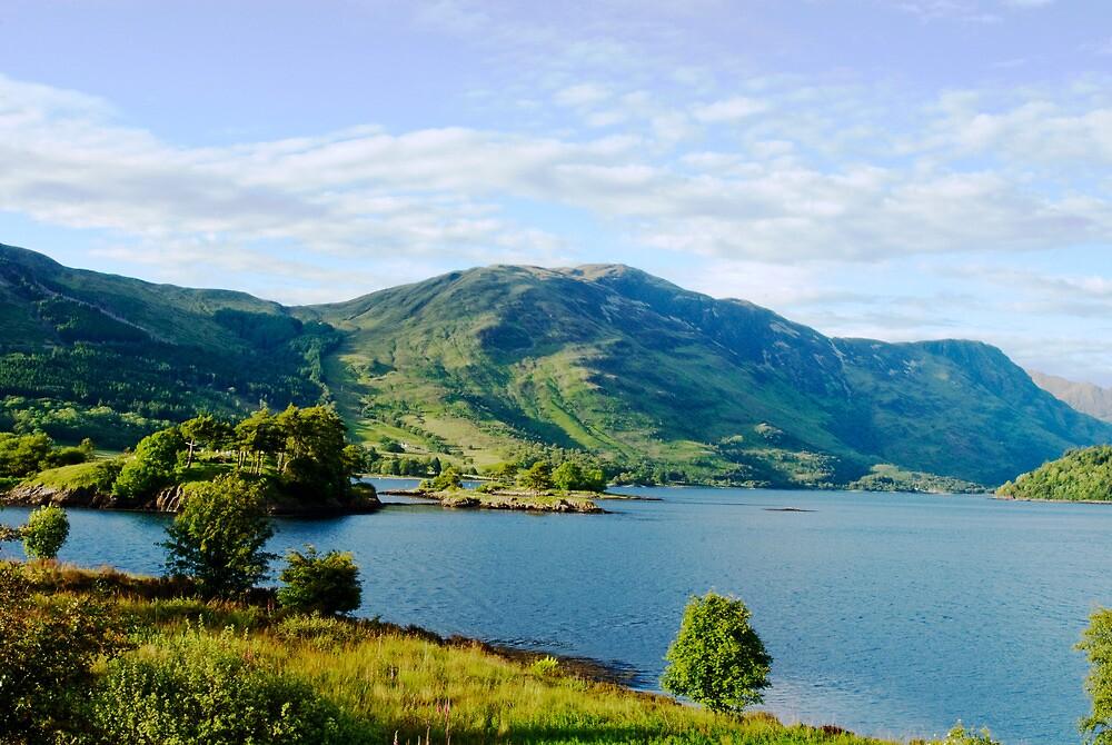 Ballachulish - Highlands of Scotland by Catherine Hoggins