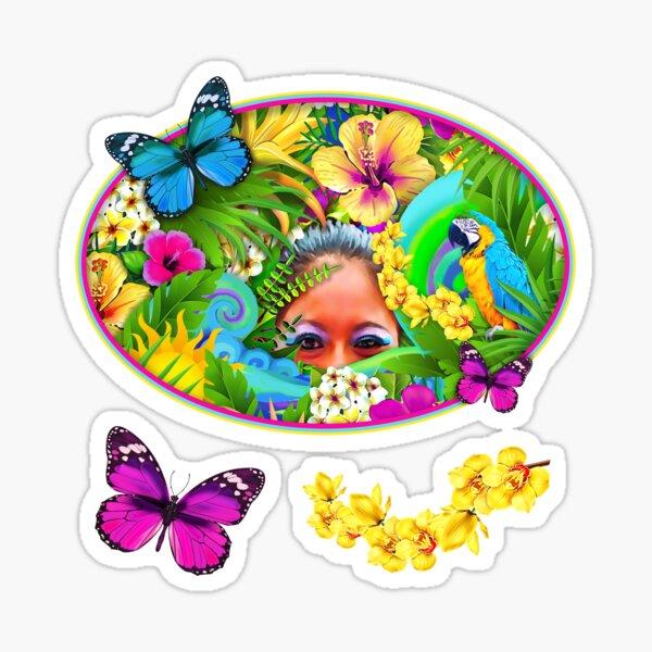 MeOMya Tropical Sticker