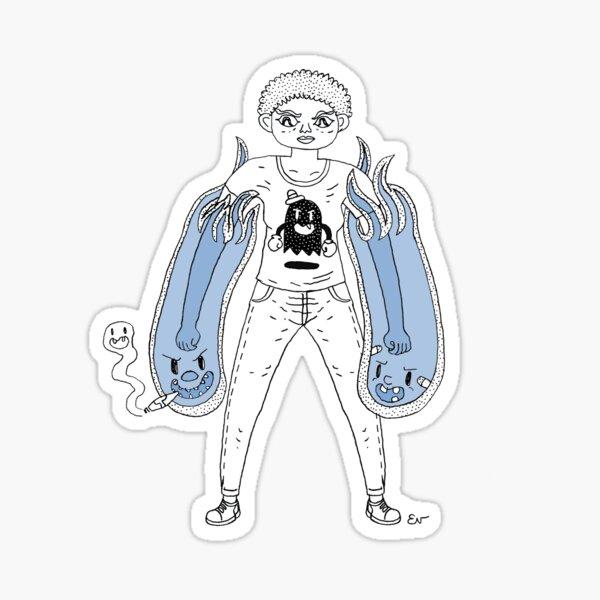 Ghost Puncher! Sticker