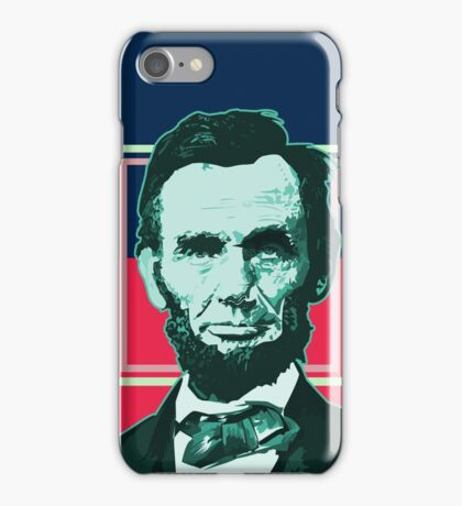 Abraham Lincoln - Retro iPhone Case/Skin